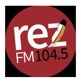 104.5 RezFM Logo
